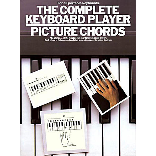Music Sales The Complete Keyboard Player: Picture Chords Music Sales America Series Written by Kenneth Baker-thumbnail