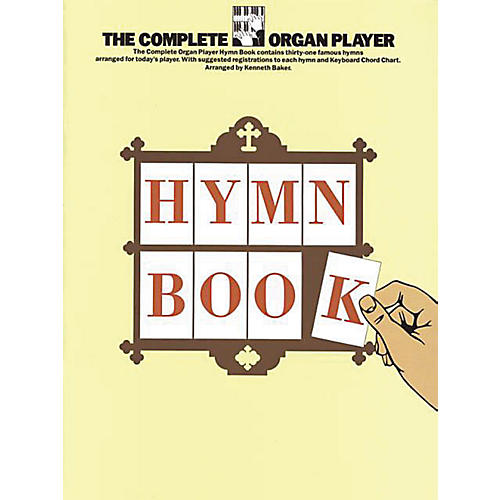 Music Sales The Complete Organ Player: Hymn Book Music Sales America Series-thumbnail