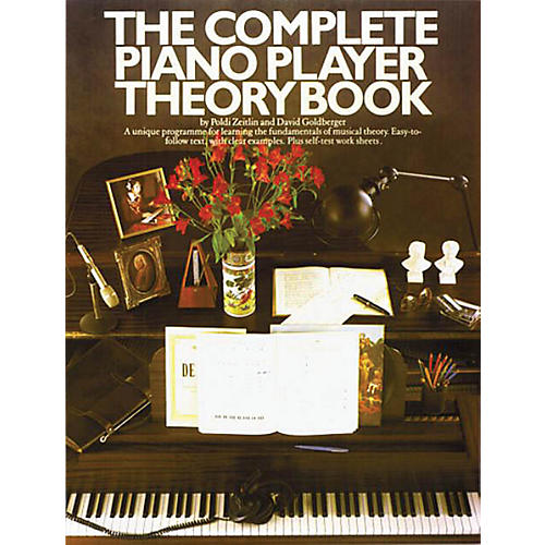 Music Sales The Complete Piano Player: Theory Book Music Sales America Series Softcover Written by David Goldberger-thumbnail