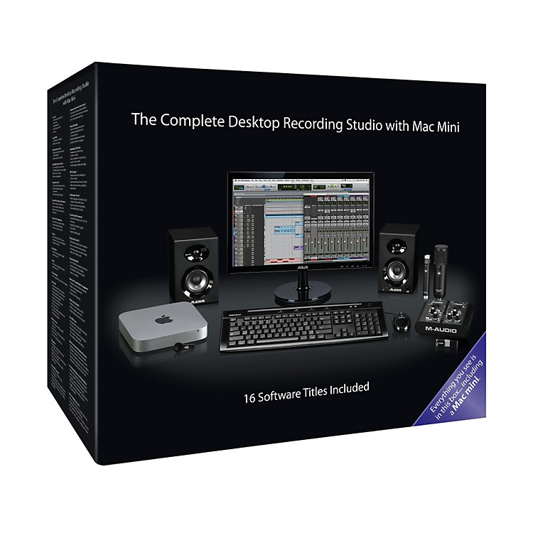 Apple The Complete Recording Studio with Mac Mini (MD387LL/A)