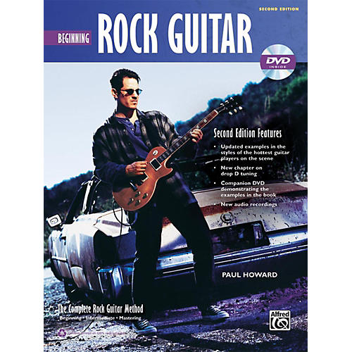 Alfred The Complete Rock Guitar Method: Beginning Rock Guitar Book & DVD (2nd Edition)-thumbnail