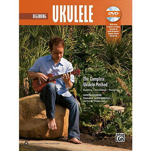 Alfred The Complete Ukulele Method: Beginner Ukulele Book & DVD