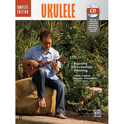 Alfred The Complete Ukulele Method: Complete Edition Book & CD-thumbnail
