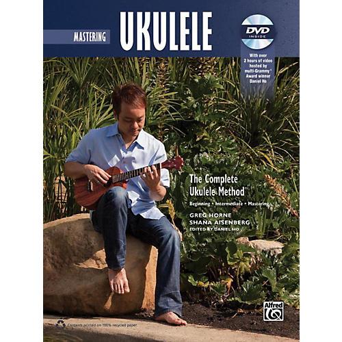 Alfred The Complete Ukulele Method: Mastering Ukulele Book & DVD-thumbnail