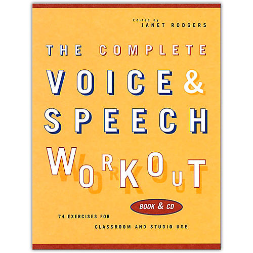 Hal Leonard The Complete Voice & Speech Workout (Book/Online Audio)