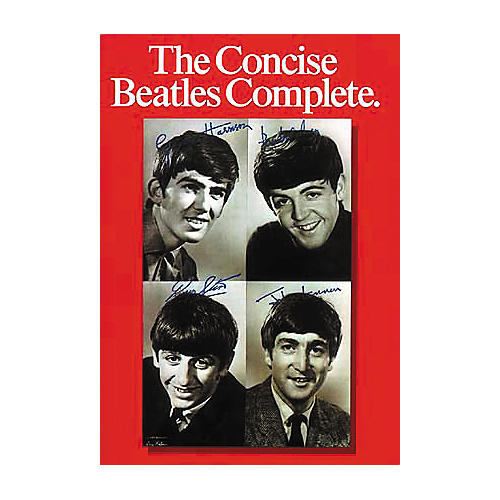 Hal Leonard The Concise Beatles Complete Piano/Vocal/Guitar Artist Songbook