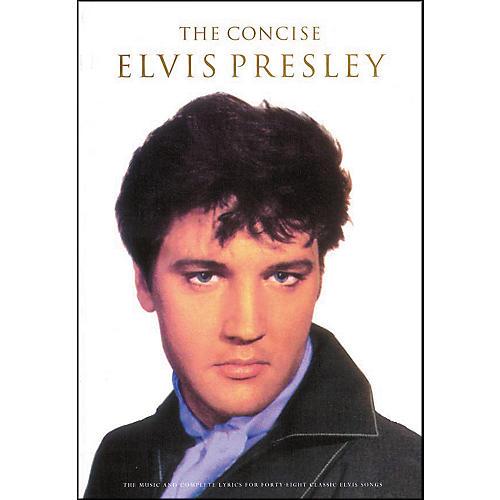 Hal Leonard The Concise Elvis Presley Songbook