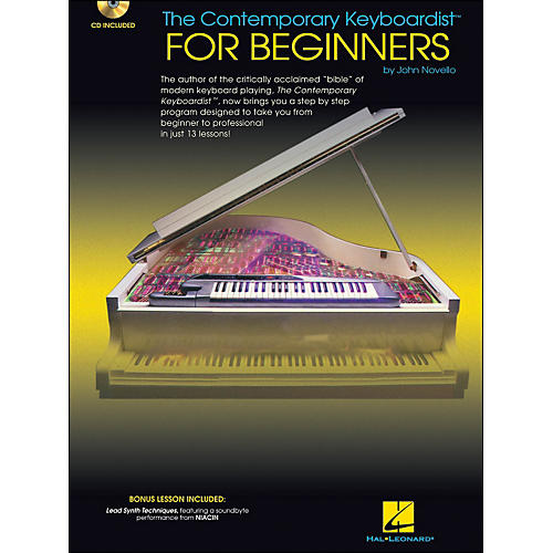 Hal Leonard The Contemporary Keyboardist for Beginners Book/CD