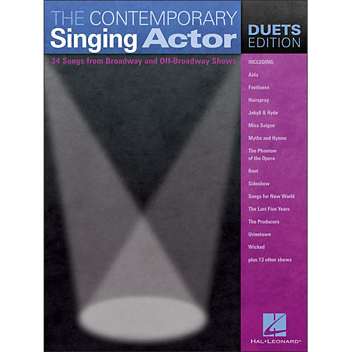 Hal Leonard The Contemporary Singing Actor - Duets Edition-thumbnail