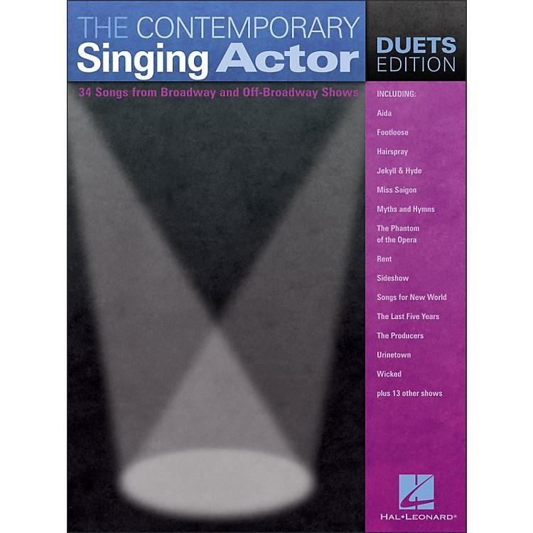 Hal LeonardThe Contemporary Singing Actor - Duets Edition