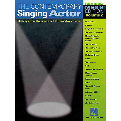Hal Leonard The Contemporary Singing Actor - Men's Edition Volume 2-thumbnail