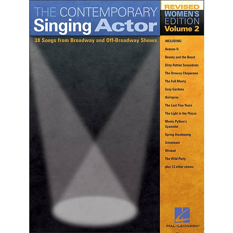 Hal Leonard The Contemporary Singing Actor - Women's Edition Volume 2