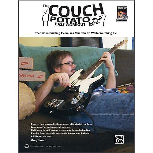 Alfred The Couch Potato Bass Workout Book