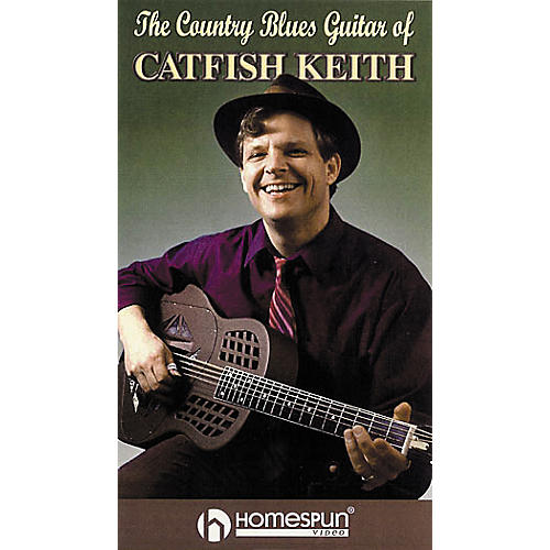Homespun The Country Blues Guitar of Catfish Keith (VHS)
