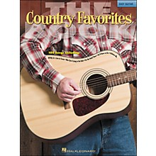 Hal Leonard The Country Favorites Book - Easy Guitar (No Tab)