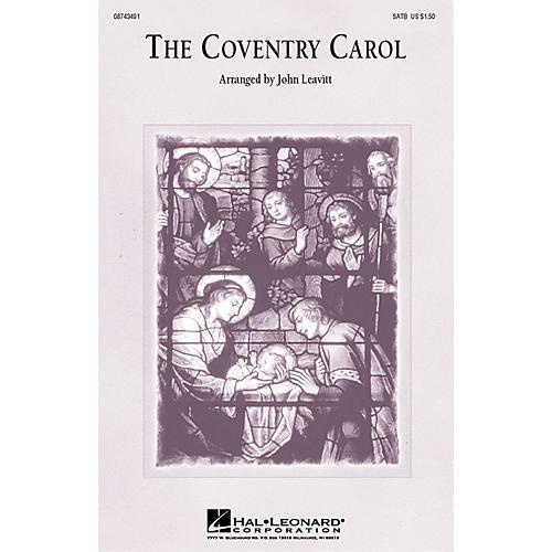 Hal Leonard The Coventry Carol 3-Part Mixed Arranged by John Leavitt-thumbnail