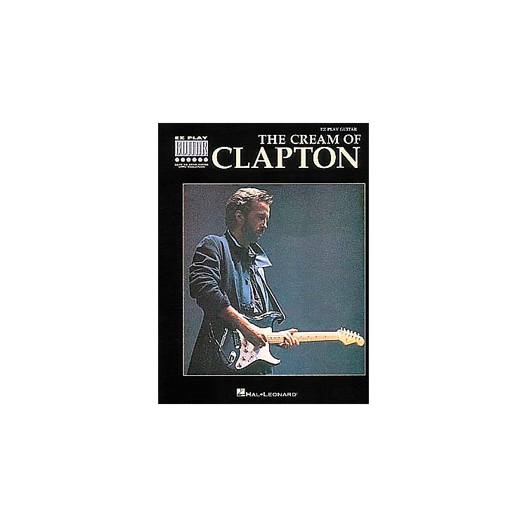Hal Leonard The Cream Of Clapton Easy Guitar Tab Book