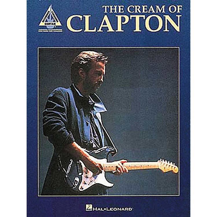 Hal Leonard The Cream of Clapton Guitar Tab Book