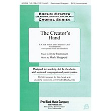 Fred Bock Music The Creator's Hand Flute/Handbells Composed by Mark Shepperd