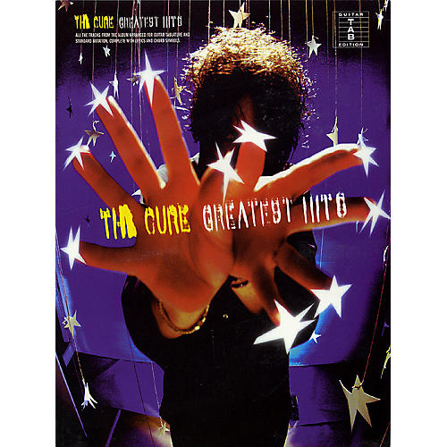 Hal Leonard The Cure - Greatest Hits (Guitar Tab) Guitar Recorded Version Series Performed by The Cure-thumbnail