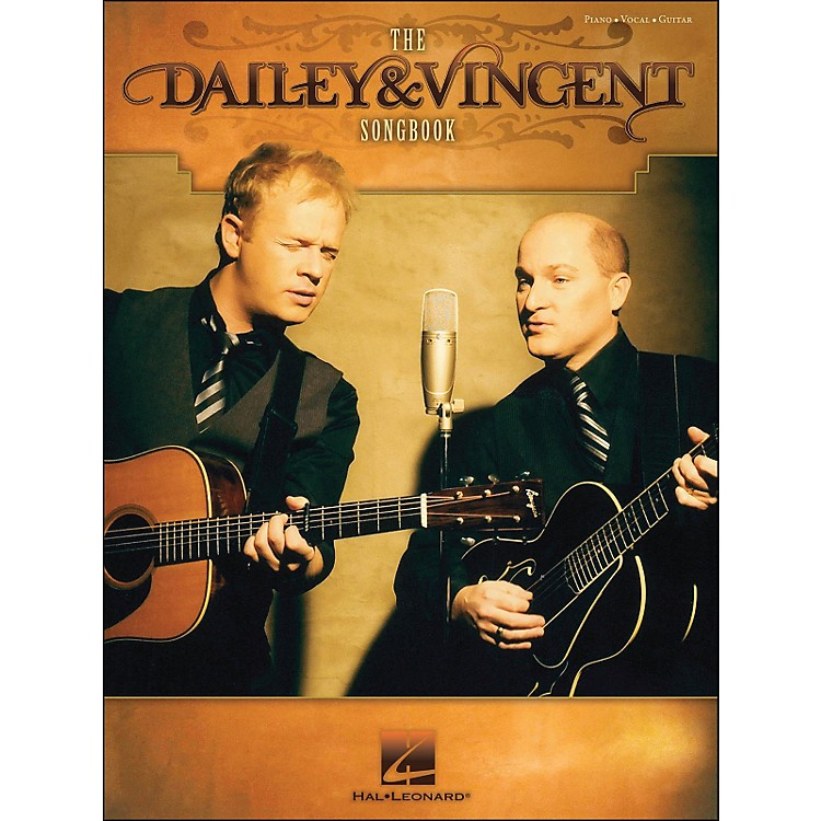 Hal Leonard The Dailey & Vincent Songbook arranged for piano, vocal, and guitar (P/V/G)