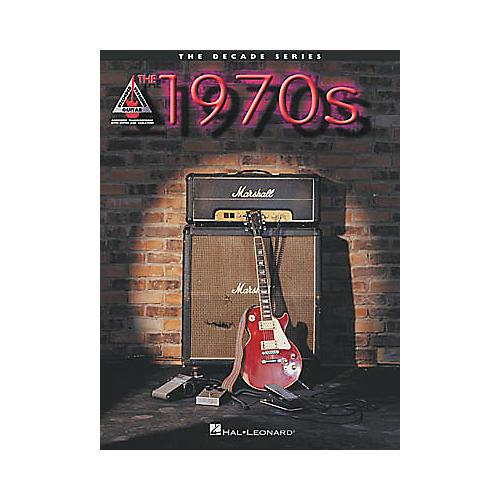 Hal Leonard The Decade Series The 1970s Guitar Tab Book