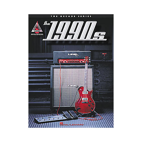 Hal Leonard The Decade Series: The 1990s Book