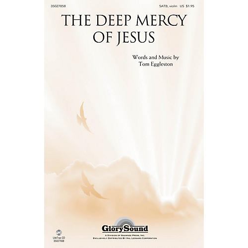 Shawnee Press The Deep Mercy of Jesus SATB, VIOLIN arranged by Tom Eggleston-thumbnail