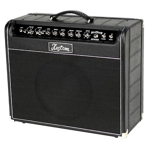 kustom the defender 50w 1x12 tube guitar combo amp musician 39 s friend. Black Bedroom Furniture Sets. Home Design Ideas