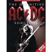 Music Sales The Definitive AC/DC Songbook (Updated Edition) Music Sales America Series Softcover Performed by AC/DC