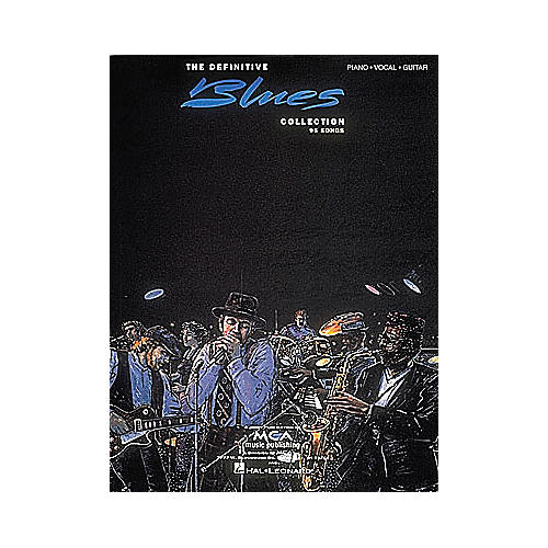 Hal Leonard The Definitive Blues Collection Songbook-thumbnail