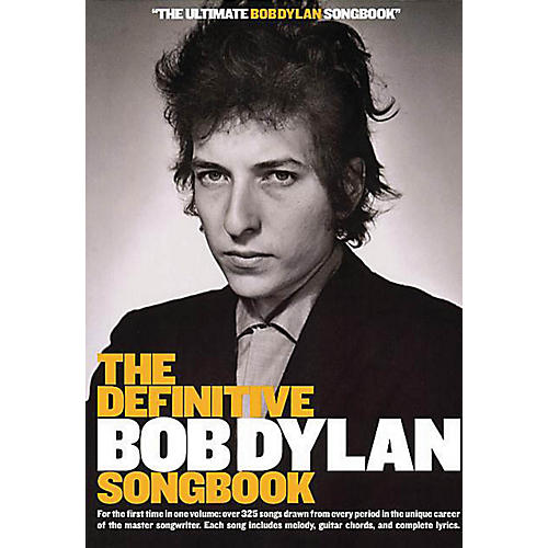 Music Sales The Definitive Bob Dylan Songbook (Small Format) Music Sales America Series Softcover by Bob Dylan-thumbnail