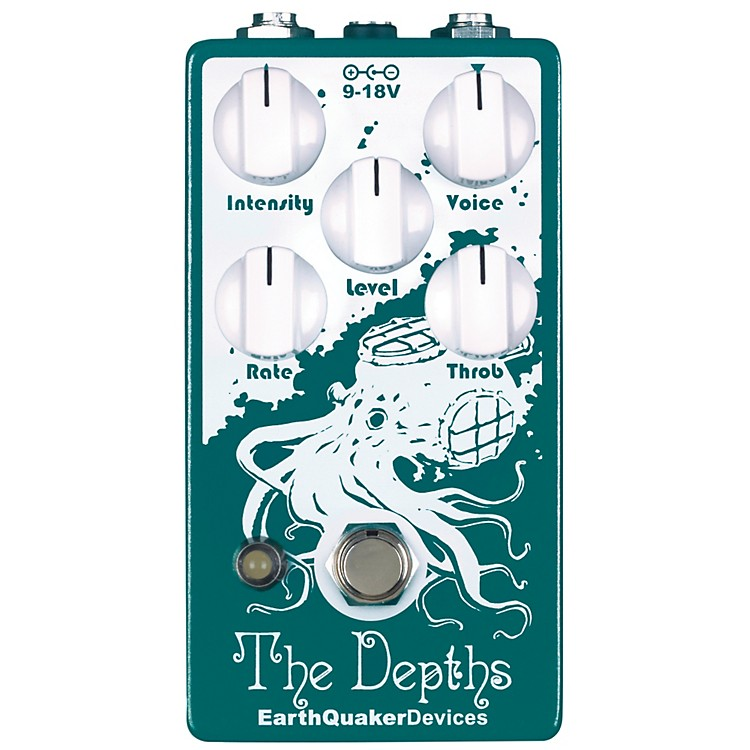 EarthQuaker DevicesThe Depths Optical Vibe Machine Guitar Effects Pedal