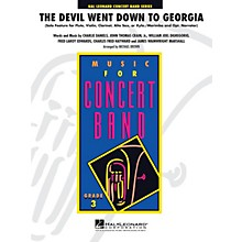 Hal Leonard The Devil Went Down to Georgia - Young Concert Band Level 3 by Michael Brown