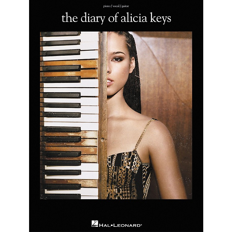 Hal Leonard The Diary of Alicia Keys Piano, Vocal, Guitar Songbook
