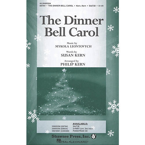 Shawnee Press The Dinner Bell Carol 2-Part Arranged by Philip Kern-thumbnail
