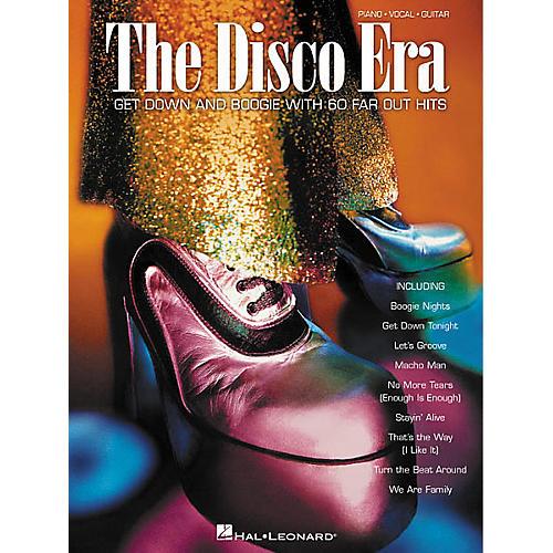 Hal Leonard The Disco Era Piano, Vocal, Guitar Songbook