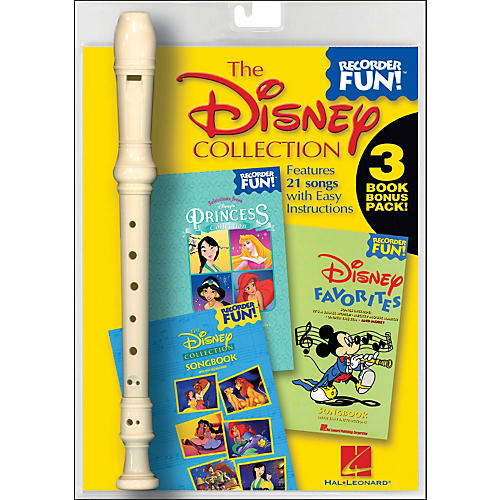 Hal Leonard The Disney Collection - Recorder Fun! 3-Book Bonus Pack
