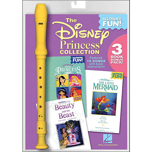Hal Leonard The Disney Princess Collection - Recorder Fun! 3-Book Bonus Pack