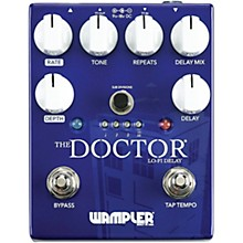 Open BoxWampler The Doctor Lo-Fi Delay Effects Pedal