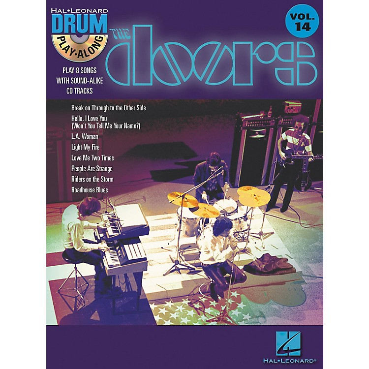 Hal LeonardThe Doors - Drum Play-Along Volume 14 Book/CD Set