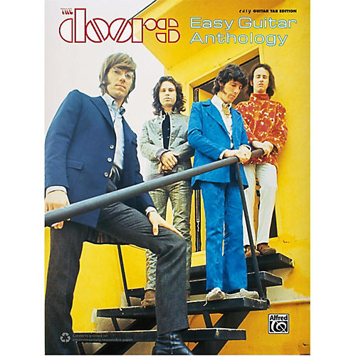 Alfred The Doors - Easy Guitar Anthology Book
