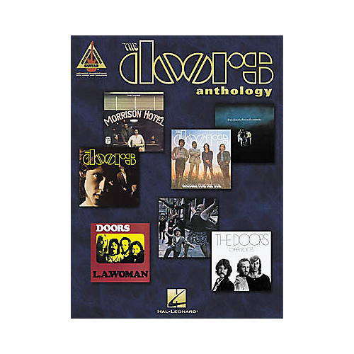 Hal Leonard The Doors Anthology Guitar Tab Book