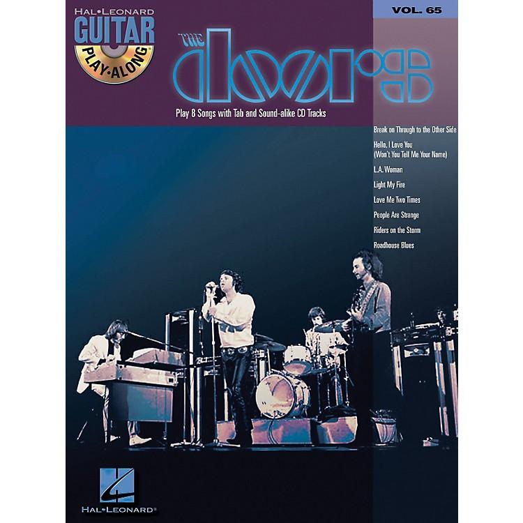 Hal LeonardThe Doors Guitar Play-Along Series Volume 65 (Book/CD)