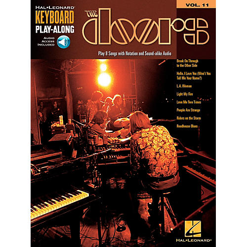 Hal Leonard The Doors Keyboard Play-Along Series Volume 11 (Book/CD)
