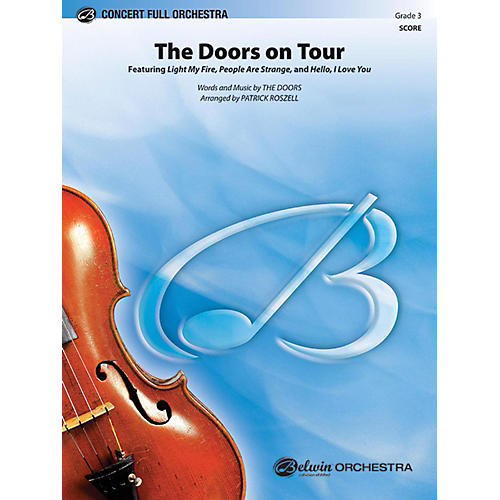 Alfred The Doors on Tour Full Orchestra Grade 3-thumbnail