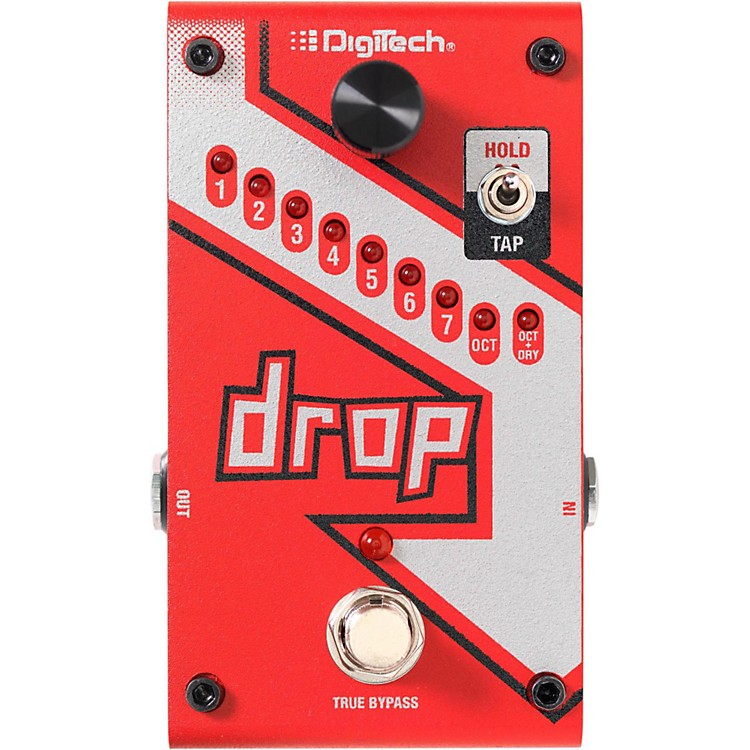 digitech the drop polyphonic drop tune pitch shifter guitar effects pedal musician 39 s friend. Black Bedroom Furniture Sets. Home Design Ideas