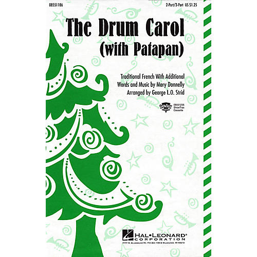 Hal Leonard The Drum Carol (with Patapan) 2 Part / 3 Part arranged by George L.O. Strid-thumbnail