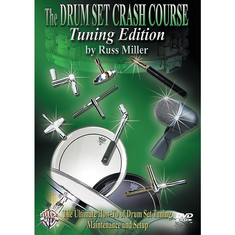 Alfred The Drum Set Crash Course, Tuning Edition by Russ Miller DVD