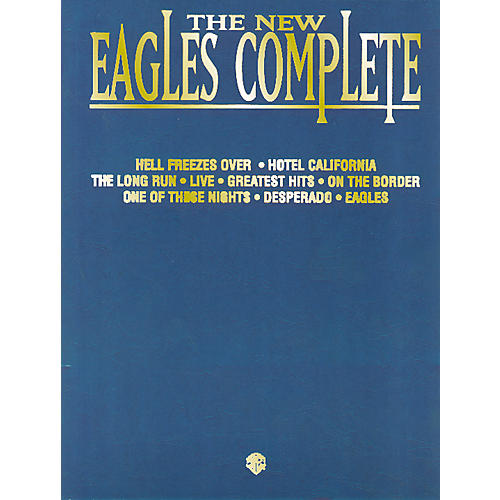 Hal Leonard The Eagles Complete Piano/Vocal/Chords-thumbnail